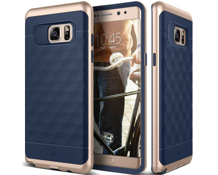 CASEOLOGY Parallax Series (CO-NT7-ARM-NV) Navy / Gold (Samsung Galaxy Note 7)
