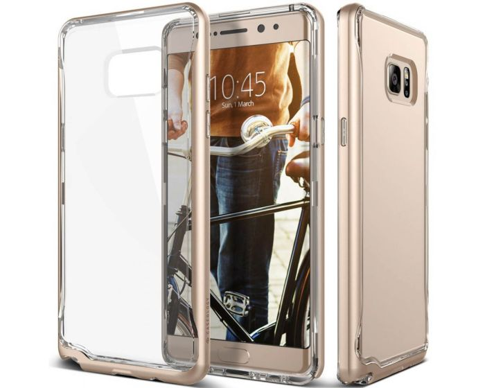CASEOLOGY SKYFALL Series (CO-NT7-SKY-GD) Clear / Gold (Samsung Galaxy Note 7)