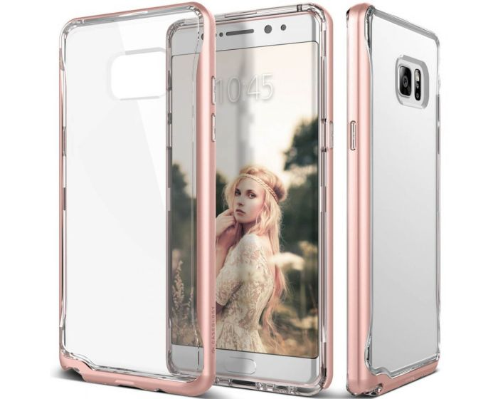 CASEOLOGY SKYFALL Series (CO-NT7-SKY-RG) Clear / Rose Gold (Samsung Galaxy Note 7)