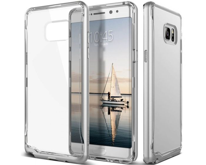 CASEOLOGY SKYFALL Series (CO-NT7-SKY-SV) Clear / Silver (Samsung Galaxy Note 7)