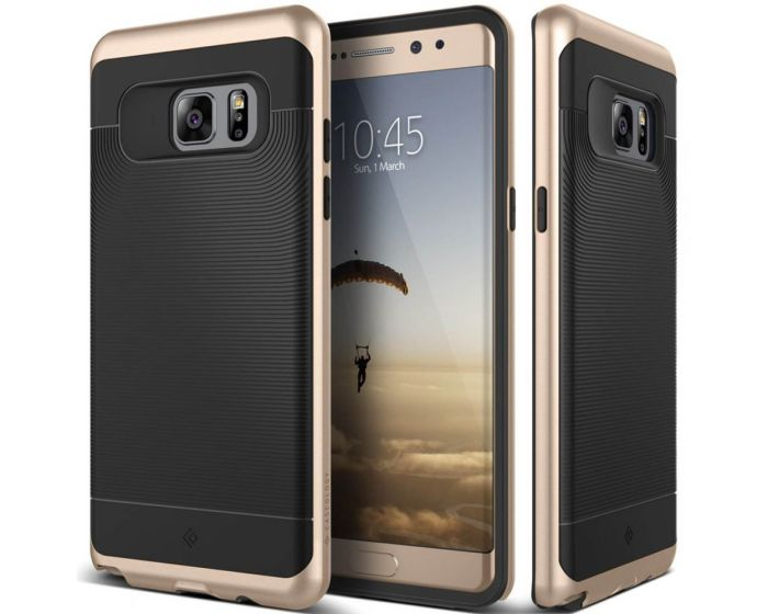 CASEOLOGY Wavelength Series (CO-NT7-GRL-BKGD) Black / Gold (Samsung Galaxy Note 7)