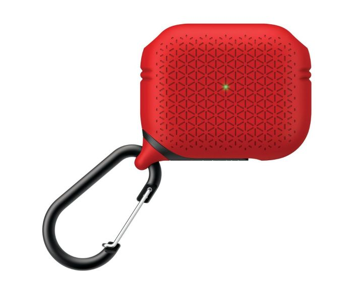 Catalyst Waterproof Case Premium Edition (CATAPDPROTEXRED) Αδιάβροχη Θήκη για Apple AirPods Pro - Flame Red