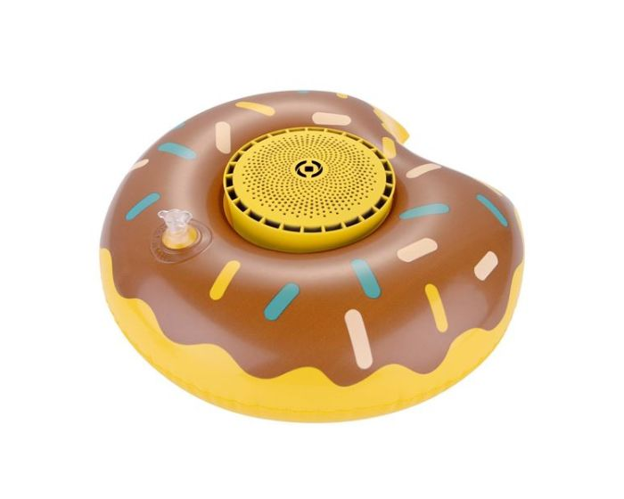 Celly Pool Donuts Bluetooth Speaker 3W Φορητό Ηχείο Yellow