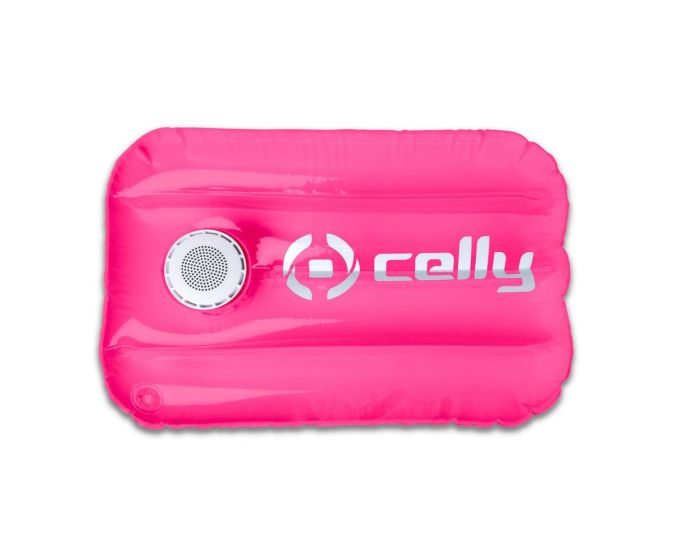 Celly Pool Pillow Bluetooth Speaker 3W Φορητό Ηχείο Pink
