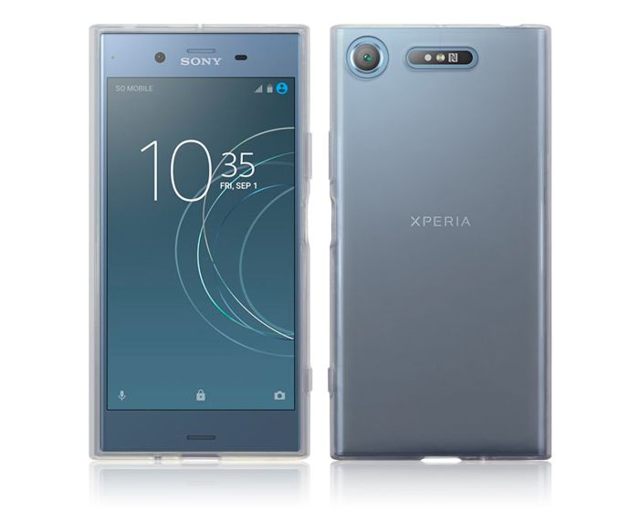 Terrapin Θήκη Σιλικόνης Slim Fit Silicone Case (118-005-394) Clear (Sony Xperia XZ1)