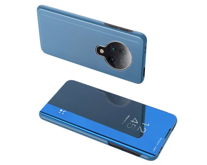 Clear View Standing Cover - Blue (Xiaomi Poco F2 Pro)