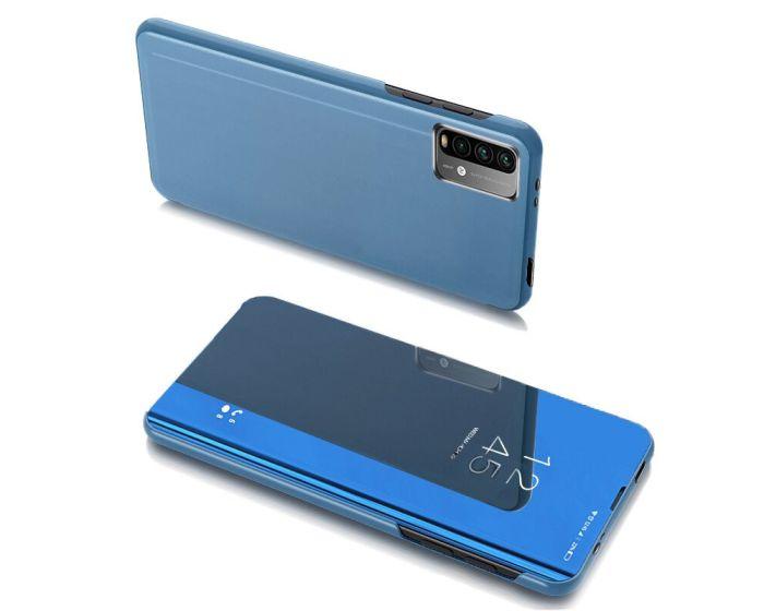 Clear View Standing Cover - Blue (Xiaomi Poco M3 / Redmi 9T)