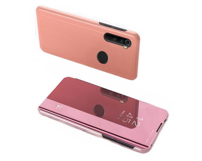 Clear View Standing Cover - Rose Gold (Xiaomi Redmi Note 8T)