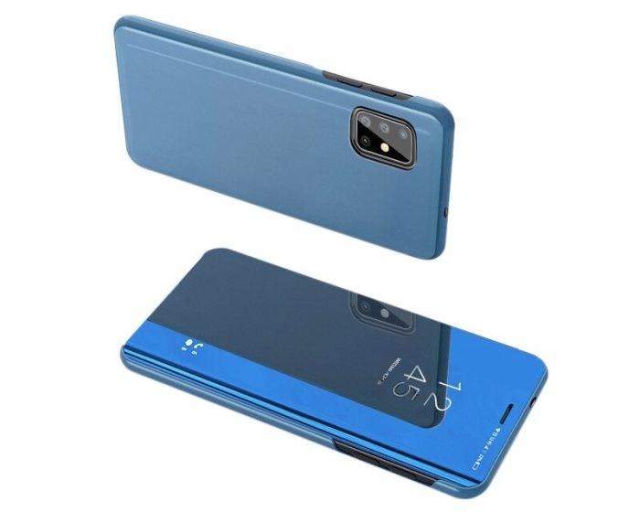 Clear View Standing Cover - Blue (Samsung Galaxy S20 Plus)