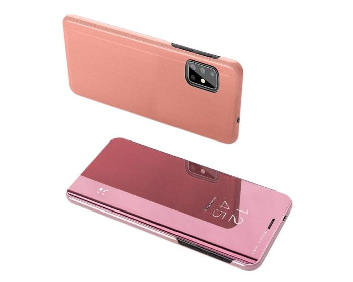Clear View Standing Cover - Rose Gold (Samsung Galaxy S20 Plus)