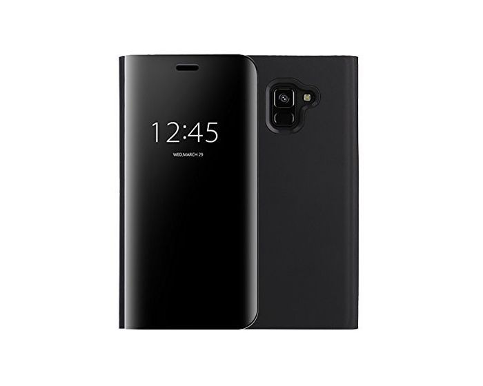 Clear View Standing Cover - Black (Samsung Galaxy J6 2018)