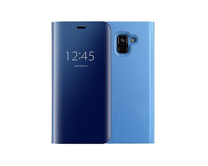 Clear View Standing Cover - Blue (Samsung Galaxy J6 2018)