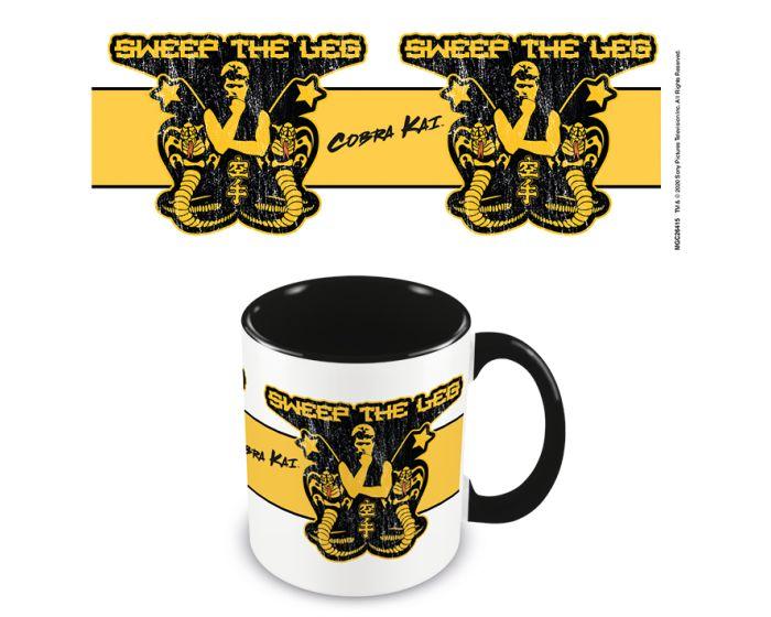Cobra Kai (Sweep The Leg) Coloured Inner Mug 315ml Κεραμική Κούπα - Black