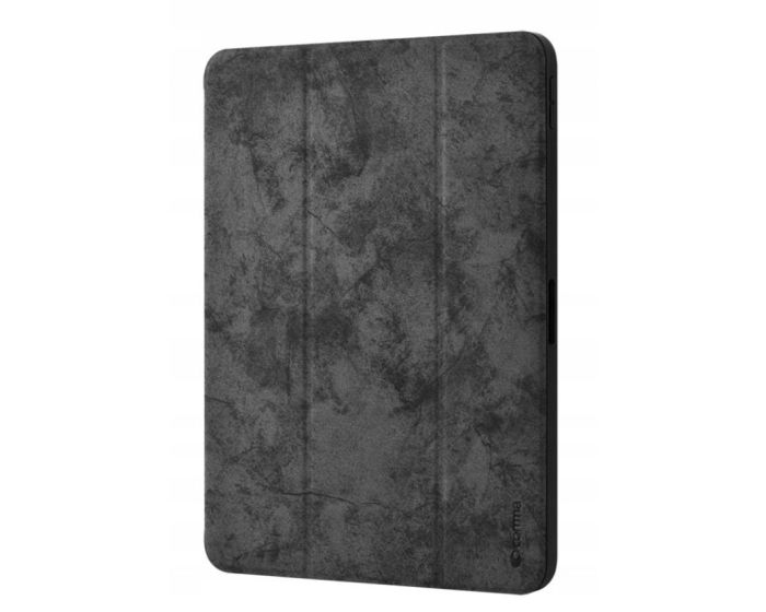 Comma Swan Leather Case with Pen Holder (DSWIP102-BK) Black (iPad 10.2 2019 / 2020 / 2021)