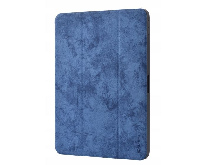 Comma Swan Leather Case with Pen Holder (DSWIP102-BL) Blue (iPad 10.2 2019 / 2020 / 2021)