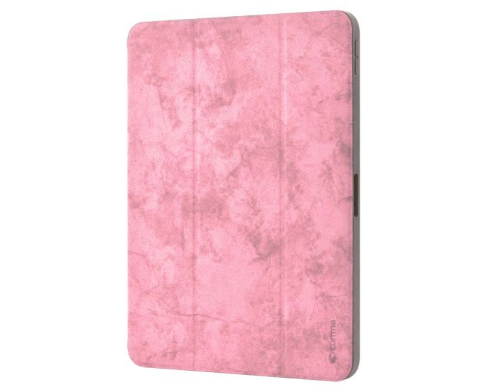 Comma Swan Leather Case with Pen Holder (DSWIP102-PK) Pink (iPad 10.2 2019 / 2020 / 2021)