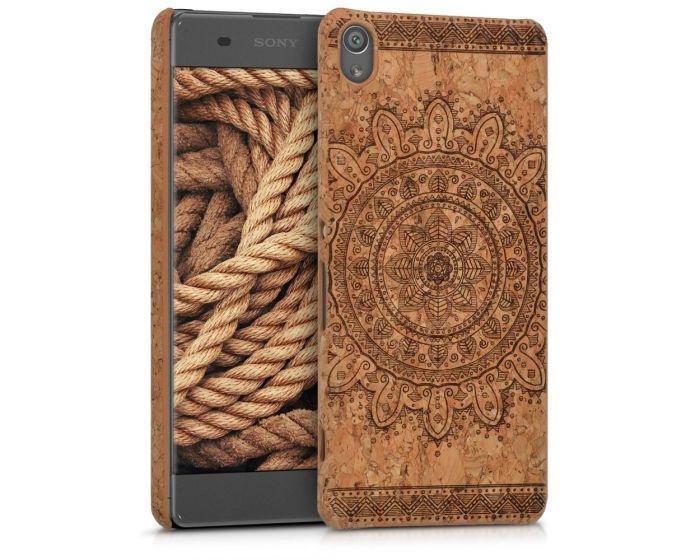 KWmobile Hard Cork Case Θήκη από φελλό (40523.02) Aztec Flower (Sony Xperia XA)