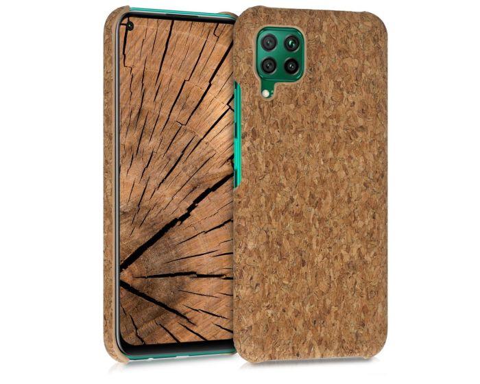 KWmobile Hard Cork Case Θήκη από φελλό (52116.24) Light Brown (Huawei P40 Lite)