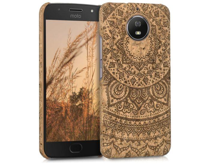 KWmobile Hard Cork Case Θήκη από φελλό (42819.01) Indian Sun (Motorola Moto G5s)