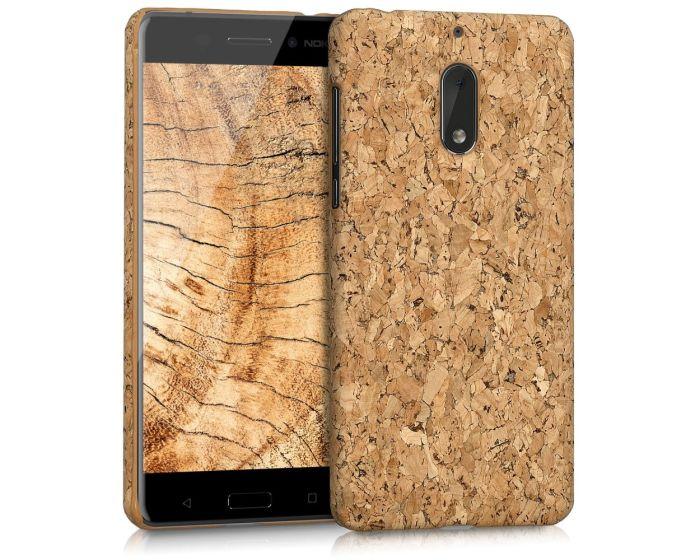 KWmobile Hard Cork Case Θήκη από φελλό (42670.24) Light Brown (Nokia 6)