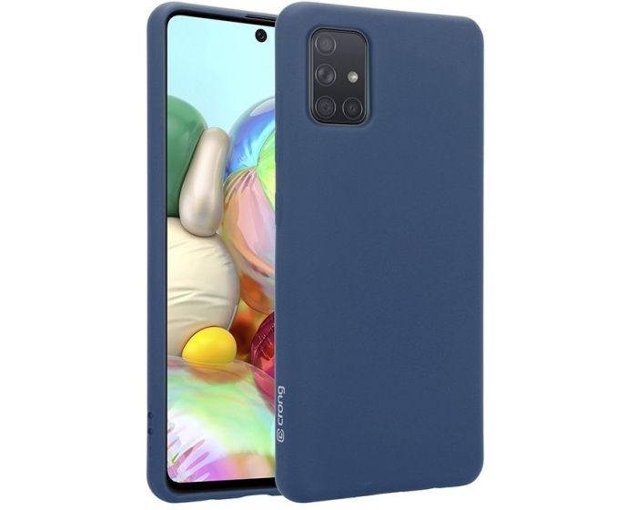 Crong Color Cover Flexible Premium Silicone Case (CRG-COLR-SGA71-BLUE) Θήκη Σιλικόνης Blue (Samsung Galaxy A71)