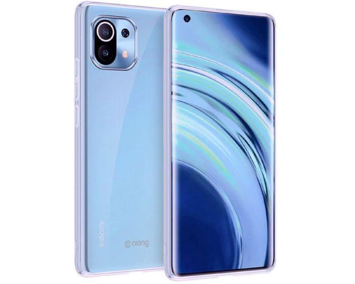 Crong Slim Flexible Silicone Case (CRG-CRSLIM-XM11-TRS) Θήκη Σιλικόνης Clear (Xiaomi Mi 11)