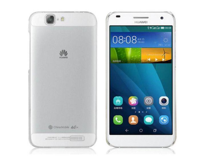 Θήκη Ultra Thin Crystal Case Διάφανη OEM (Huawei Ascend G7)