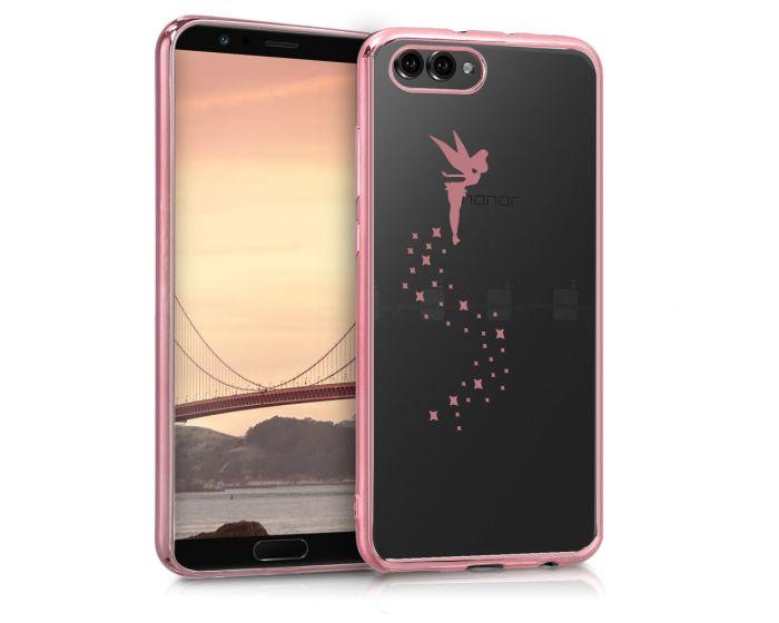 KWmobile Slim Fit Gel Glitter Fairy Case (44210.01) Θήκη Σιλικόνης Rose Gold (Huawei Honor View 10 / Honor V10)