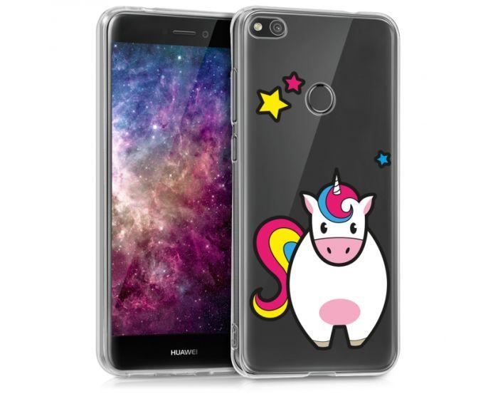 KWmobile Slim Fit Gel Case Unicorn Stars (40898.10) Θήκη Σιλικόνης (Huawei P8 Lite 2017 / P9 lite 2017 / Honor 8 Lite)