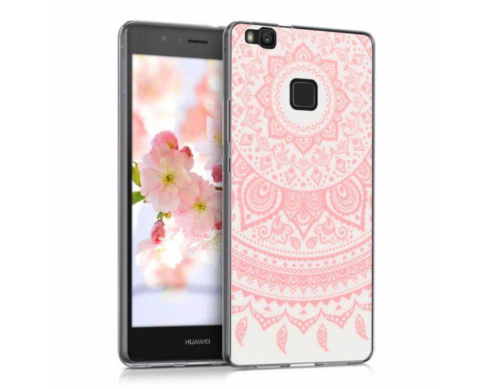 KWmobile Slim Fit Gel Case Indian Sun (39430.03) Θήκη Σιλικόνης Ροζ Διάφανη (Huawei P9 Lite)