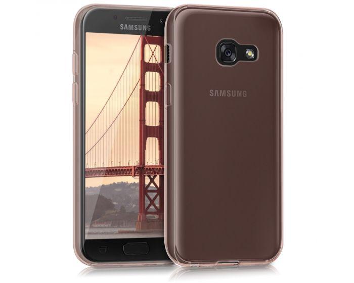 KWmobile Slim Fit Gel Case (40689.81) Θήκη Σιλικόνης Rose Gold (Samsung Galaxy A3 2017)
