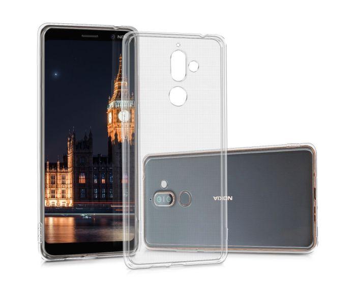 KWmobile TPU Clear Silicone Case Θήκη Σιλικόνης (44496.03) Διάφανη (Nokia 7 Plus)