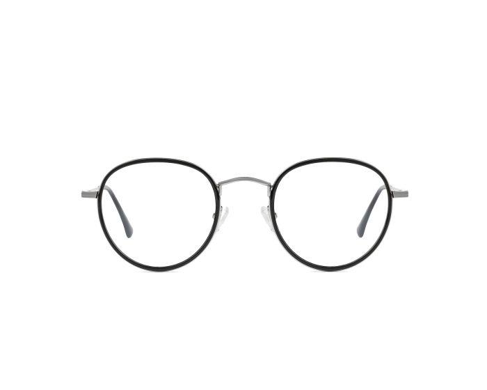 D.Franklin Glasses Walker Round Γυαλιά με φίλτρο Anti-Blue Light - Black