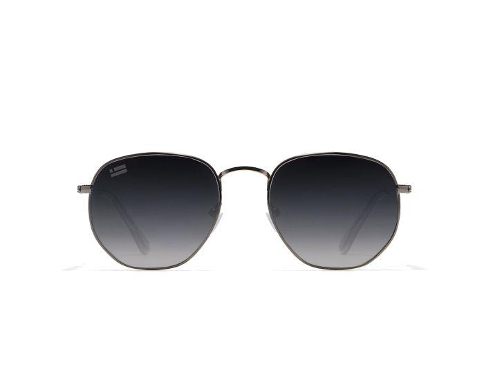 D.Franklin Sunglasses Classic Hexagon (DFKSUN0415) Γυαλιά Ηλίου Gunmetal / Grad Black
