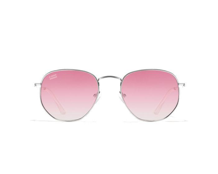 D.Franklin Sunglasses Classic Hexagon (DFKSUN0416) Γυαλιά Ηλίου Silver / Grad Flash Pink