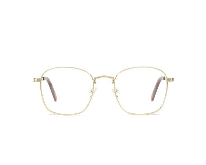 D.Franklin Classic Square Γυαλιά με φίλτρο Anti-Blue Light - Gold