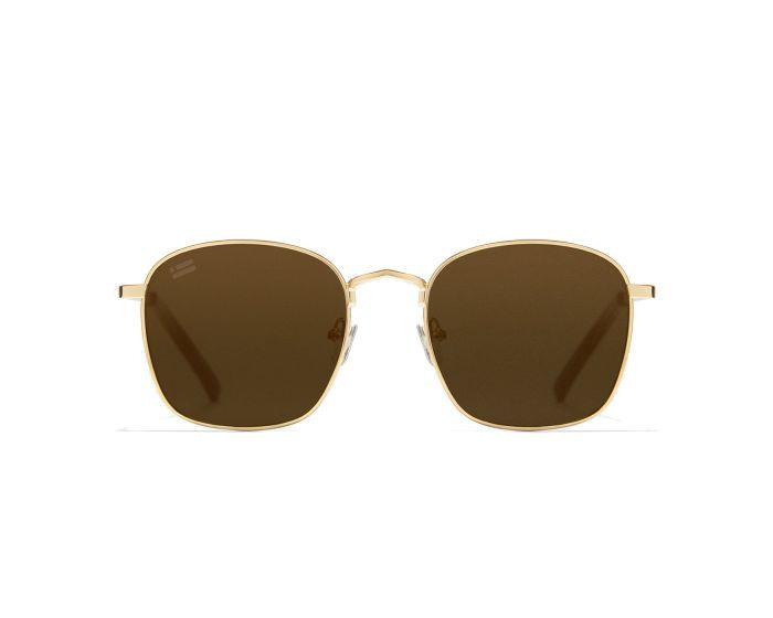 D.Franklin Sunglasses Classic Square (DFKSUN0442) Γυαλιά Ηλίου Gold / Brown