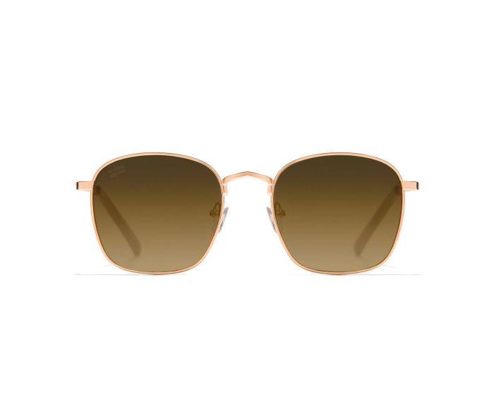 D.Franklin Sunglasses Classic Square (DFKSUN0446) Γυαλιά Ηλίου Rose Gold / Grad Brown