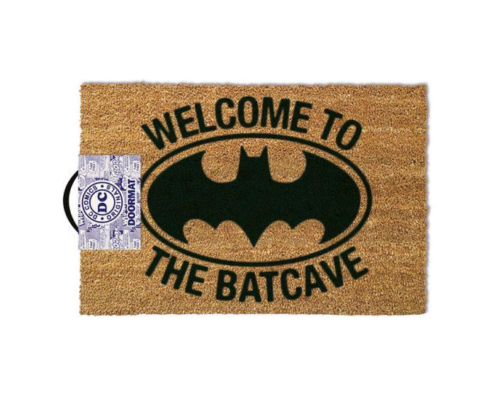 DC Batman (Welcome To The Batcave) Door Mat - Πατάκι Εισόδου 40x60cm