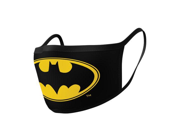 Pyramid Face Mask Προστατευτική Μάσκα Προσώπου 2 Τεμάχια - Batman (Logo)