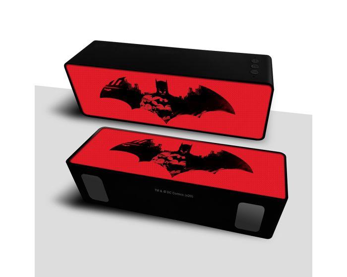DC Comics Bluetooth Wireless 2.1 Speaker 10W Ασύρματο Ηχείο - Batman 007 Red