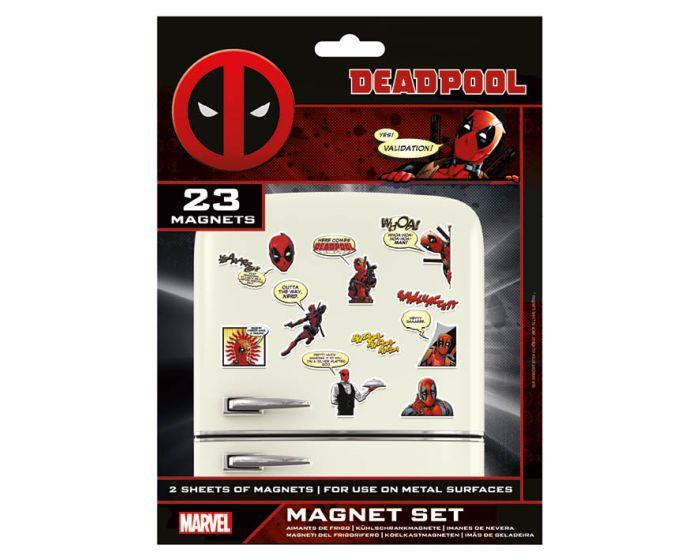 Deadpool (Comic) Magnet Set - Μαγνητάκια Ψυγείου 18x24cm
