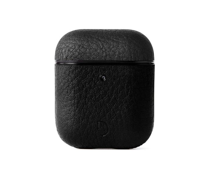 Decoded Aircase 2 Leather AirPods Case Δερμάτινη Θήκη για Apple Airpods - Black