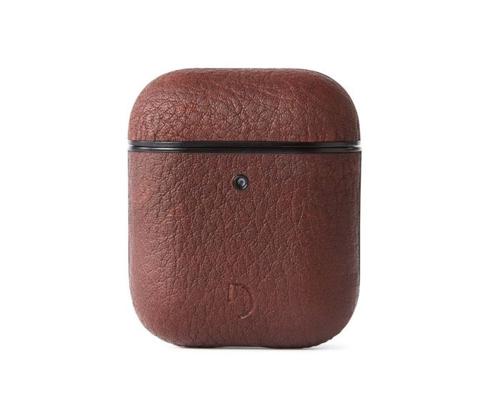 Decoded Aircase 2 Leather AirPods Case Δερμάτινη Θήκη για Apple Airpods - Brown
