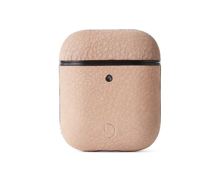 Decoded Aircase 2 Leather AirPods Case Δερμάτινη Θήκη για Apple Airpods - Rose