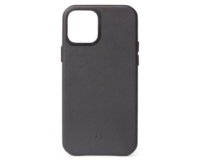 Decoded Leather Back Cover Δερμάτινη Θήκη Black (iPhone 12 Pro Max)
