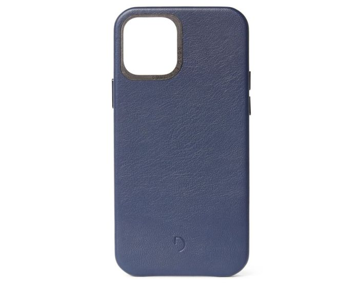 Decoded Leather Back Cover Δερμάτινη Θήκη Navy (iPhone 12 Mini)