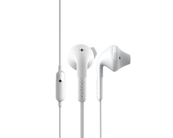 Defunc + Hybrid Hands Free Ακουστικά White