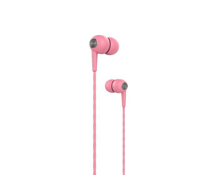 Devia Kintone In-Ear Headphones Hands Free Ακουστικά Pink