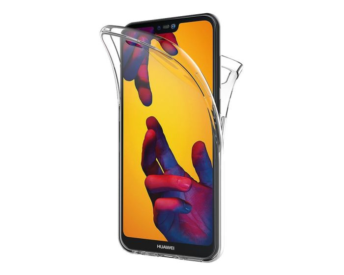Forcell Full Face Ultra Thin 0.3mm Silicone Case Όψης & Πλάτης Διάφανη (Huawei P20 Pro)
